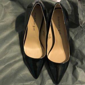 Madden girl black pumps